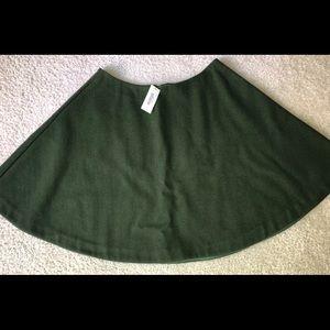 Kate Spade Saturday Circle Mini Wool Skirt